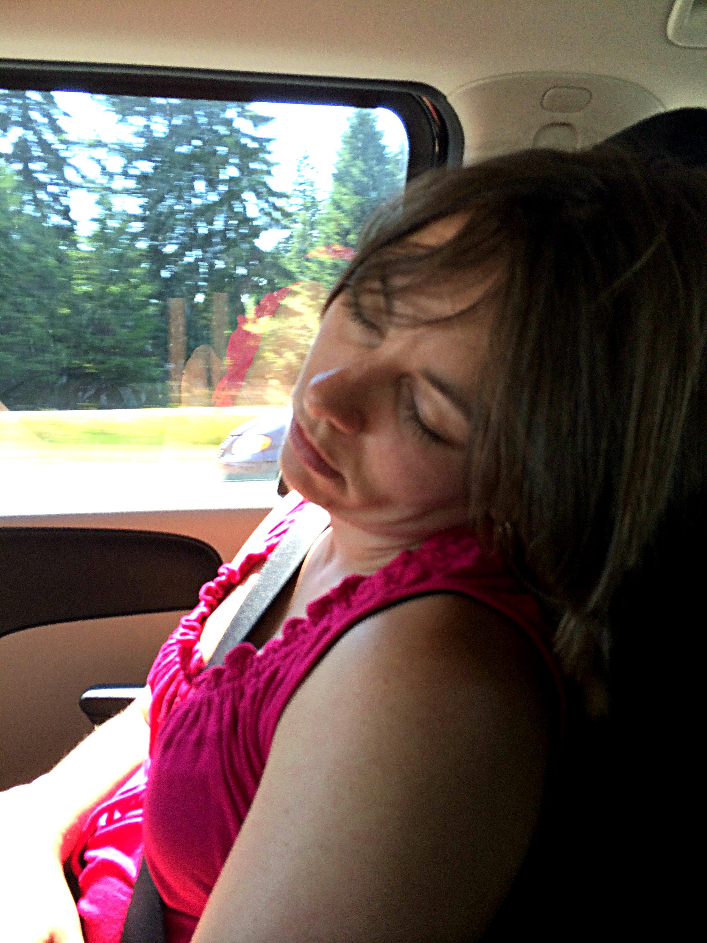 fallen asleep
