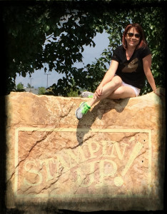 Amy on SU stone