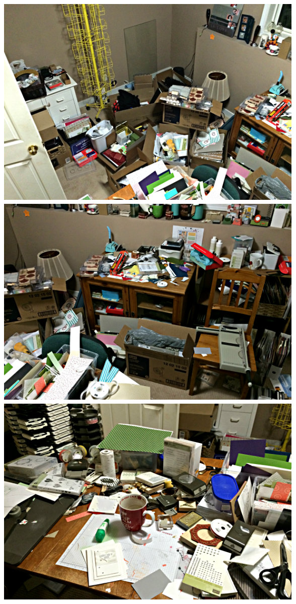craft room chaos