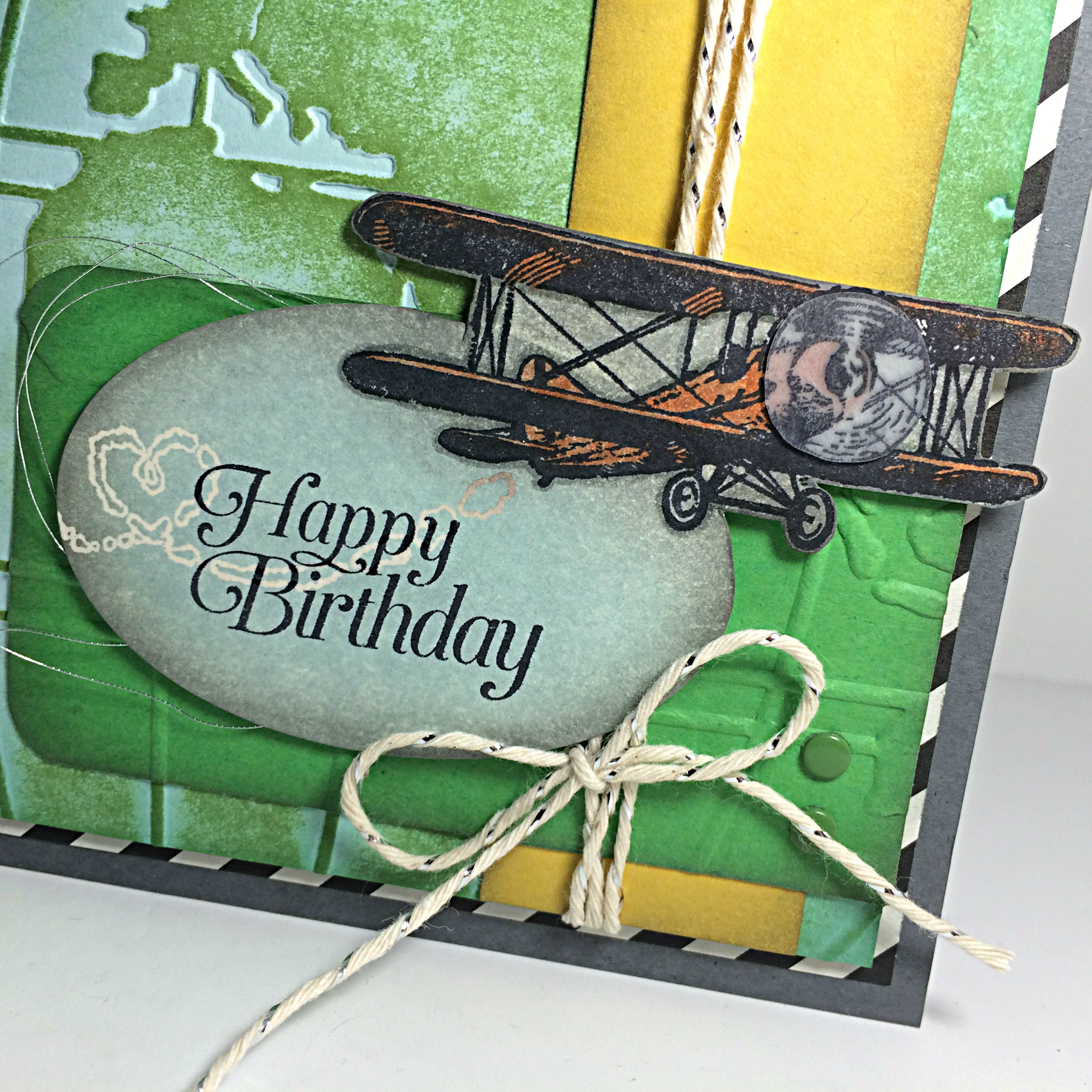 Soaring Birthday by Amy Jasper www.inkingonthefly.com Sky is the Limit from Stampin' Up! #AYSI119