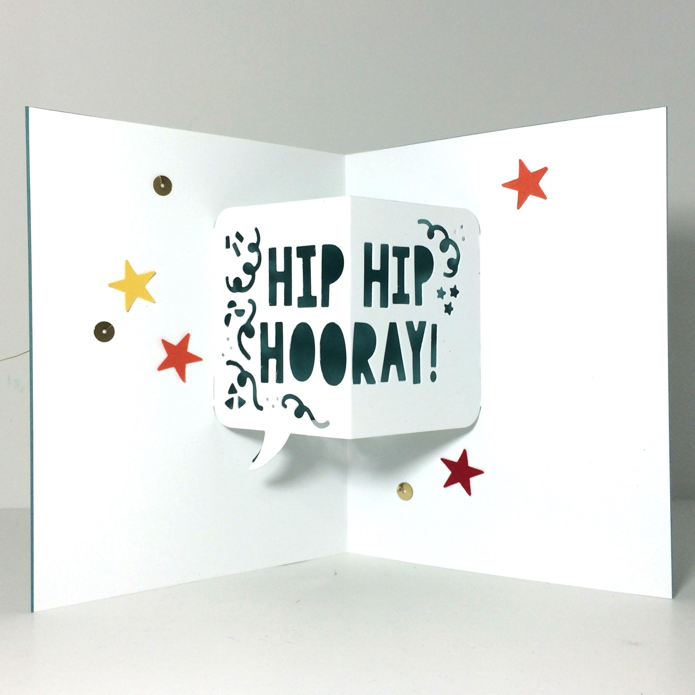 Birthday Pop-up card by Amy Jasper www.inkingonthefly.com