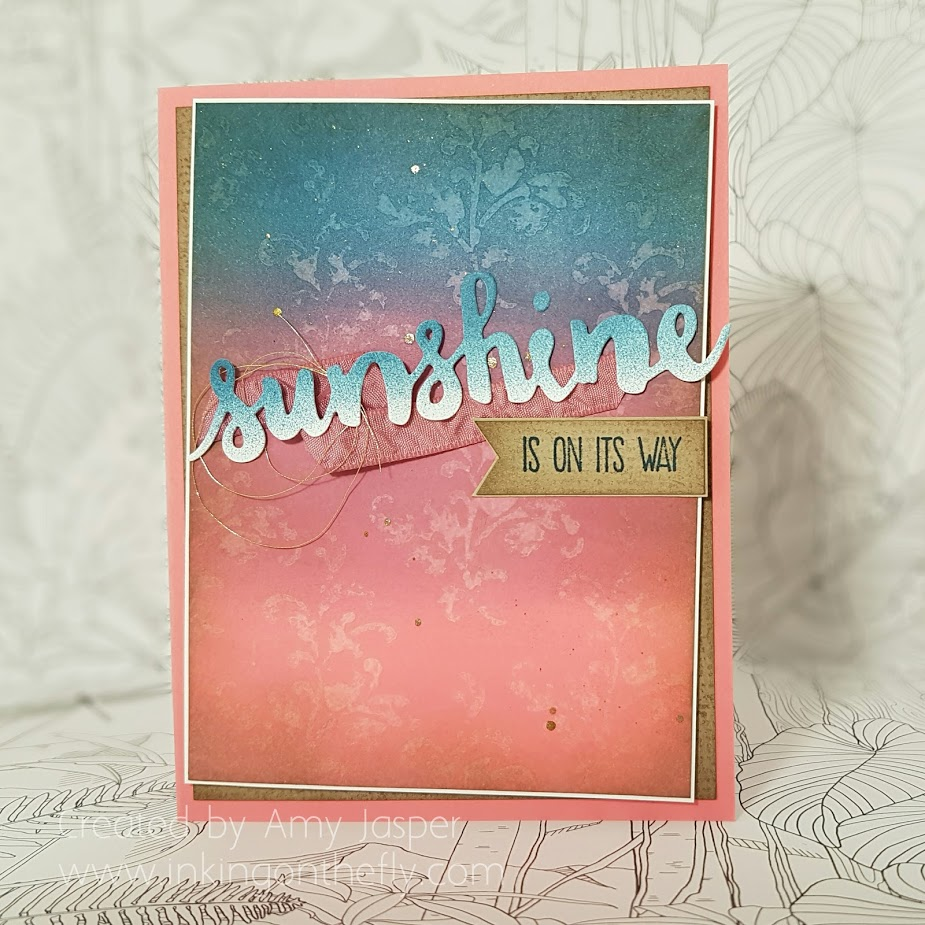 Sunshine is on its way by Amy Jasper www.inkingonthefly.com